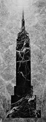 Still Life Royalty-Free and Rights-Managed Images - Marble E S B B W by Rob Hans