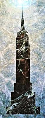 Still Life Royalty-Free and Rights-Managed Images - Marble E S B by Rob Hans