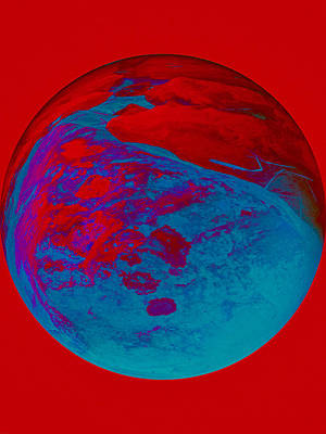 Photograph - Marble In Red by Jouko Lehto