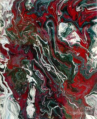 Painting - Marble Painting 10 by Barbara Griffin