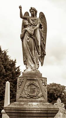 Photograph - Marble Statue Tomb D by Jacek Wojnarowski