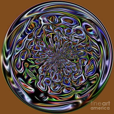 Marble Art Print by Terry Weaver