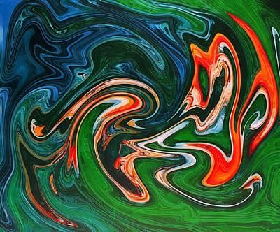 Marble Texture Art Print by Anton Kalinichev