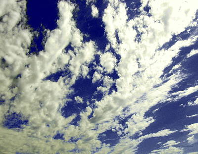 Photograph - Marbled Sky by Deborah  Crew-Johnson