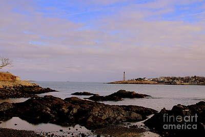 Photograph - Marblehead Harbor And Light by Lennie Malvone