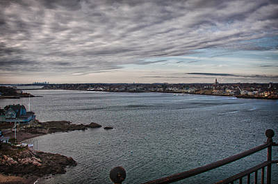 Photograph - Marblehead Harbor To Boston Harbor by Jeff Folger