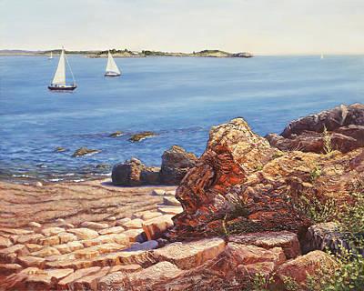 Marblehead Jewel, Massachusetts Original by Elaine Farmer