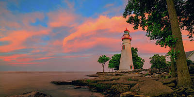 Photograph - Marblehead Light  by Emmanuel Panagiotakis