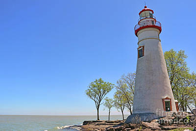 Photograph - Marblehead Lighthouse 0908 by Jack Schultz
