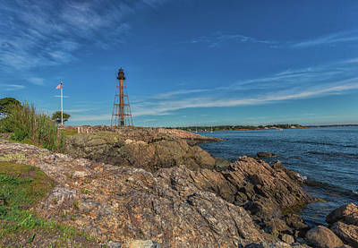 Photograph - Marblehead Lighthouse by Brian MacLean