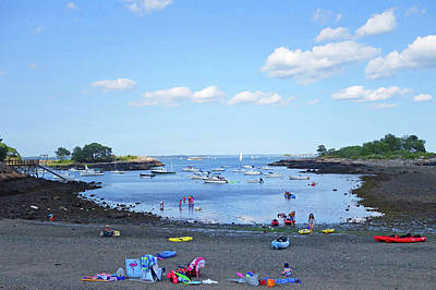 Photograph - Marblehead Ma Little Harbor On A Summer Day by Toby McGuire