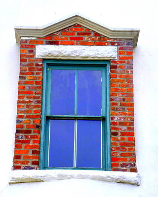 Photograph - Marblehead Window by Beth Akerman
