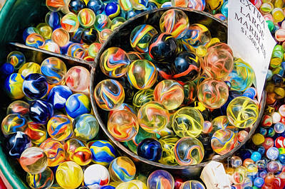 Photograph - Marbles by Kathleen K Parker
