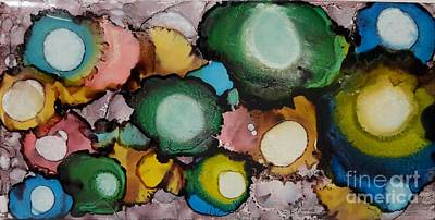Painting - Marbles by Terri Mills