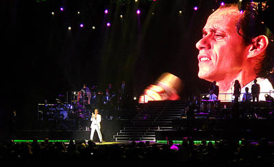 Marc Anthony On Stage Art Print