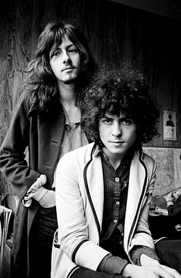 Photograph - Marc Bolan T Rex 1969 by Chris Walter