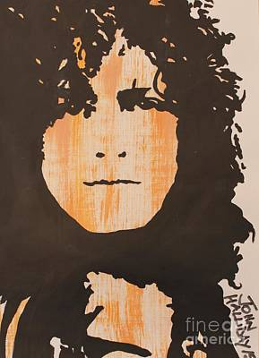 Marc Bolan Painting - Marc Bolan T.rex by John Halliday