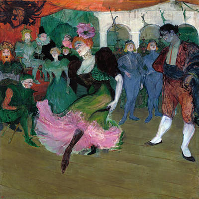 Painting - Marcelle Lender Dancing The Bolero by Henri de Toulouse-Lautrec