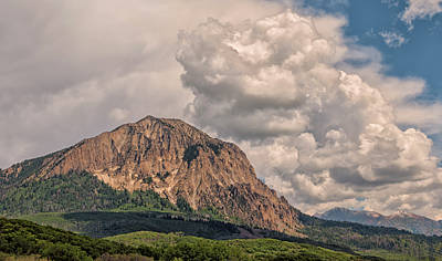 Photograph - Marcellina Mountain by Loree Johnson