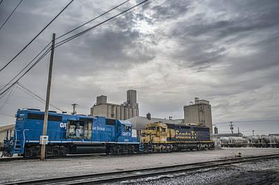 Evansville Photograph - March 18. 2015 - Evansville Western Railway by Jim Pearson