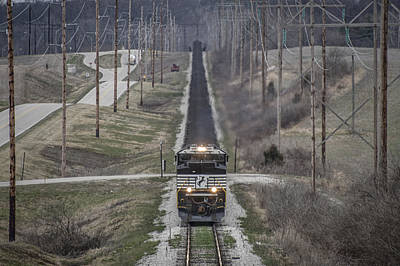 Evansville Photograph - March 18. 2015 - Norfolk Southern Ndn1 by Jim Pearson