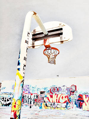 Basketball Hoop Photograph - March 23 2010 by Tara Turner