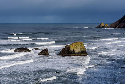 Photograph - March At Ecola by Robert Potts