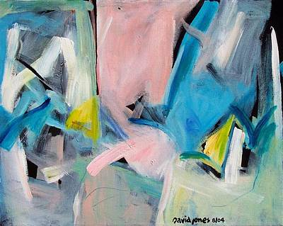 Painting - March In Three by Dave Jones