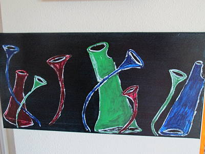 Painting - March Of The Wine Brigade by Sharyn Winters