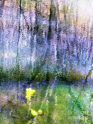 Photograph - March Pond by Melissa Stoudt