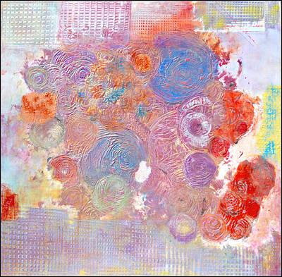 Marche Au Fleurs Art Print
