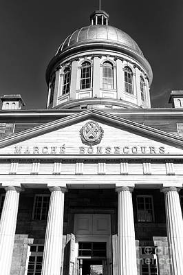 Photograph - Marche Bonsecours Design by John Rizzuto