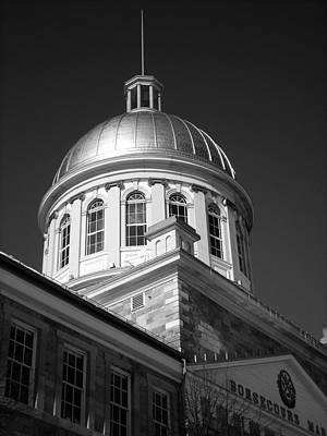 Marche Bonsecours  Art Print
