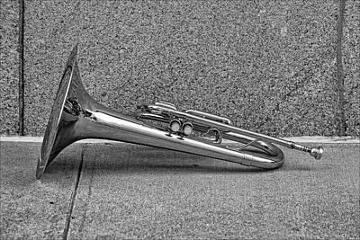 Marching Band Instrument Print by Robert Ullmann