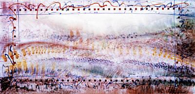 Marching In The Meadow Art Print by Tom Hefko