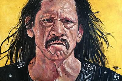 Tom Brady Painting - Marcia Brady by Tom Carlton