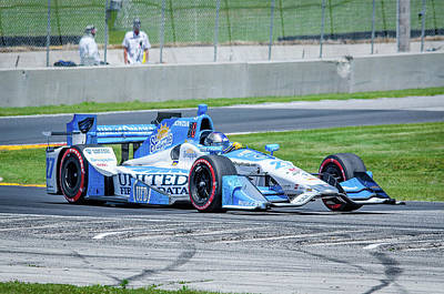 Marco Andretti Photograph - Marco Andretti by Steven Banker