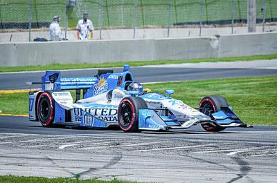 Andretti Photograph - Marco Andretti by Steven Banker