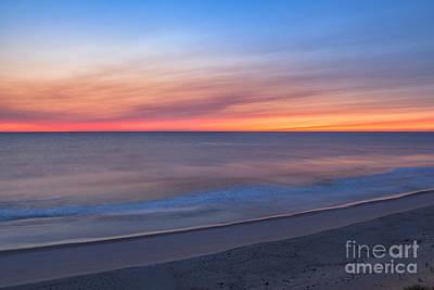 Marconi Beach Sunrise Art Print by Richard Sandford
