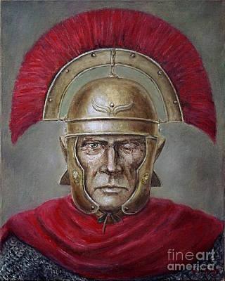 Painting - Marcus Cassius Scaeva by Arturas Slapsys