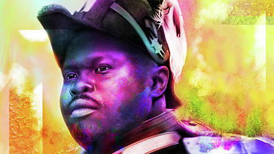Digital Art - Marcus Garvey by AC Williams