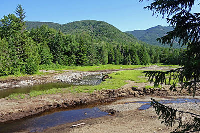 Photograph - Marcy Dam Area Adirondacks Mountains Upstate New York by Toby McGuire