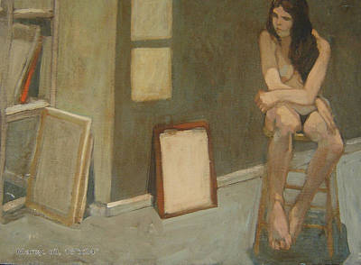 Jim Innes Painting - Marcy by Jim Innes