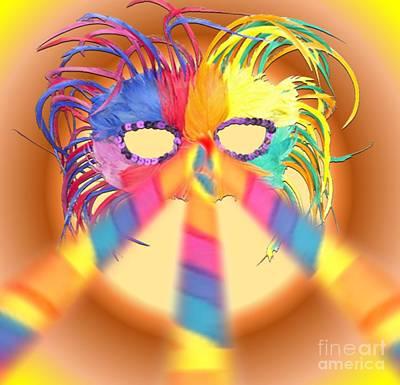 Painting - Mardi Gra Time by Belinda Threeths