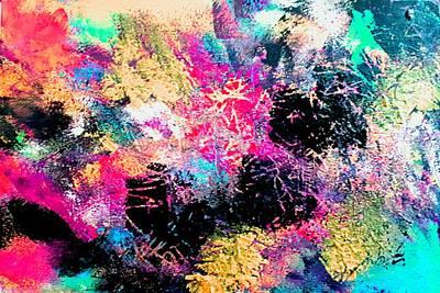 Painting - Mardi Gras 1 by Nikki Dalton