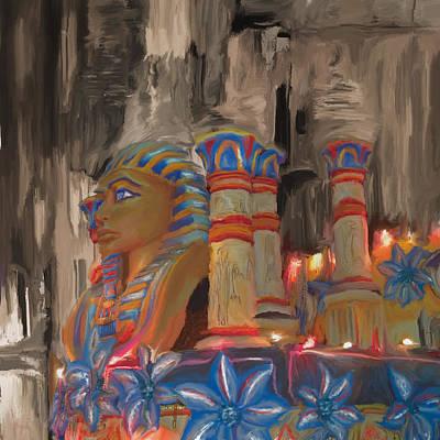 New Culture Painting - Mardi Gras 238  by Mawra Tahreem