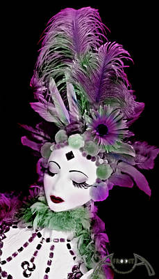 Mixed Media - Mardi Gras by Afrodita Ellerman