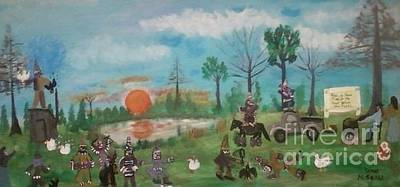 Science Collection - Mardi Gras at the Pond by Seaux-N-Seau Soileau