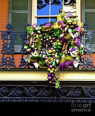 Mardi Gras Decor 1 Art Print