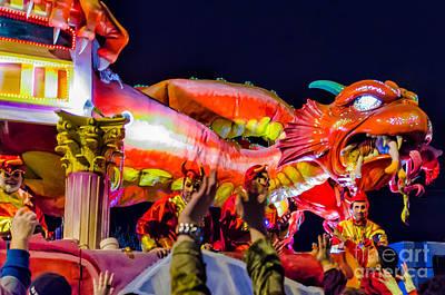 Photograph - Mardi Gras Float 2 - Nola by Kathleen K Parker